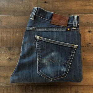 Vintage Style Lucky Brand 121 Heritage Slim 33x30
